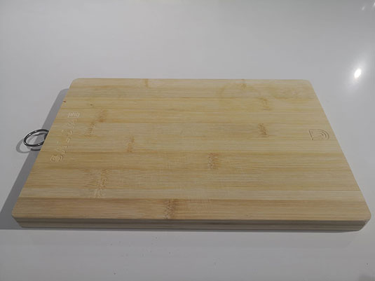 tabla corte bambu salume