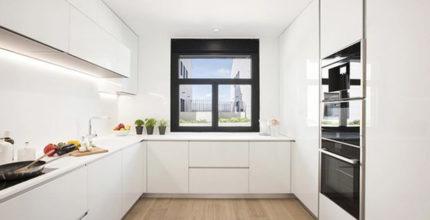Cocinas en U: comodidad y funcionalidad unidas